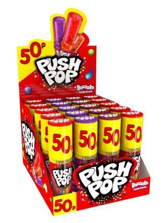 Bazooka Push Pop PM 50p