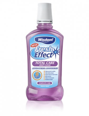 Wisdom Fresh Effect Total Care Mouthwash