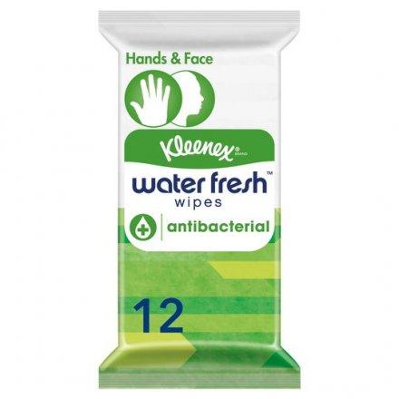 Kleenex Water Fresh Antibacterial Wipes