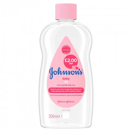 Johnsons Baby Oil PM £2