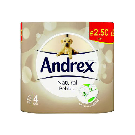 Andrex Natural PM £2.50