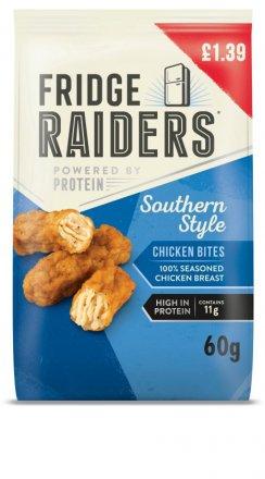 Mattessons Fridge Raiders Southern Fried Flavour Chicken Bites PM £1.39