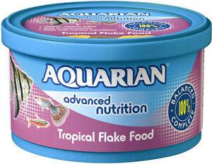 Aquarian Tropical Fish Food Flakes PM £3.50