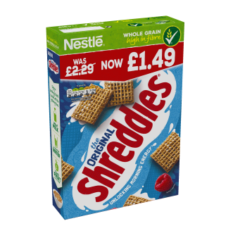 Nestle Original Shreddies Cereal PM £1.49