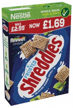 Nestle Frosted Shreddies PM £1.69