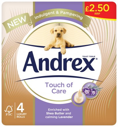 Andrex Touch Of Care PM £2.50