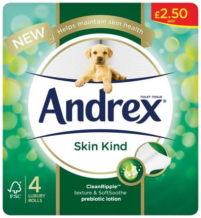 Andrex Skin Kind PM £2.50