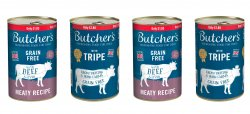 Butchers Tripe Mix/ Beef & Liver Dog Food PM £1.85