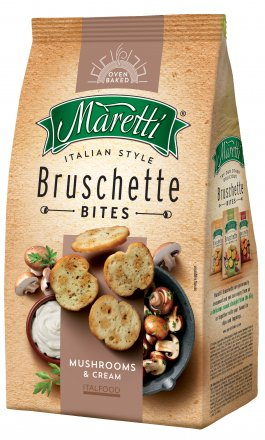 Bruschette Maretti Bites Mushrooms & Cream