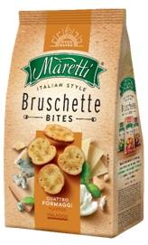Bruschette Maretti Bites Quatro Formaggi