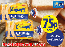 Kingsmill Now Just 75p!