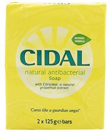 Cidal Antibacterial Soap Twin