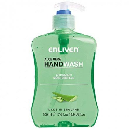 Enliven Handwash Aloe Vera Anti Bacterial Non PM
