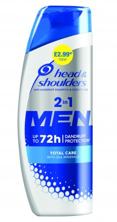 Head & Shoulders Men Ultra Total Care Anti Dandruff PM £2.99