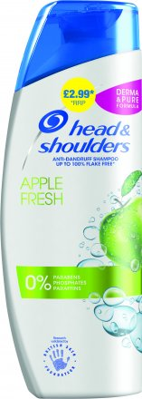 Head & Shoulders Shampoo Apple Fresh PM £2.99