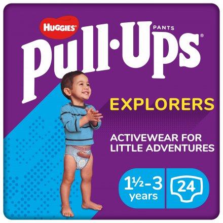 Huggies Pull-Ups Explorers Boys 1 1/2 Years - 3 Years