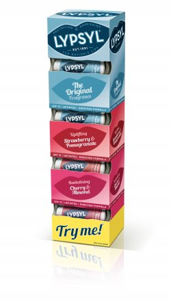 Lypsyl Assorted Flavours Tower