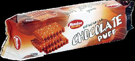 Munchee Chocolate Puffs 59p