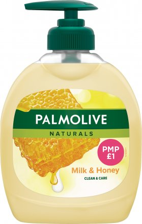 Palmolive Liquid Handwash Naturals Milk & Honey PM £1