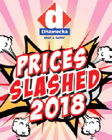 Prices Slashed 2018