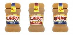Sunpat Peanut Butter Smooth/ Crunchy PM £2.29