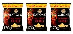 Walkers Sensations Thai Sweet Chili PM £1.50