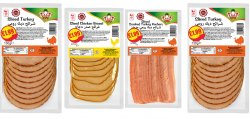 Zaad Sliced Beef/ Chicken/ Turkey Rashers PM £1.99