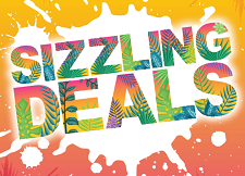 Summer Brochure SIZZLING DEALS